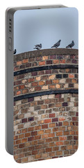 Pigeons On A Stack Portable Battery Charger by Paul Freidlund