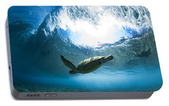 Pipe Turtle Glide Portable Battery Charger by Sean Davey