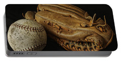 Play Ball Portable Battery Charger by Richard Rizzo