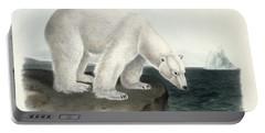 Polar Bear Portable Battery Charger by John James Audubon