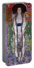 Portrait Of Adele Bloch-bauer II Portable Battery Charger by Gustav Klimt