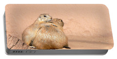 Prairie Dog Friends Portable Battery Charger by Laurel Powell