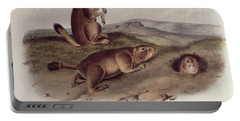 Prairie Dog Portable Battery Charger by John James Audubon