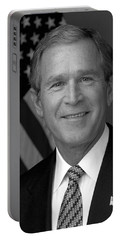 President George W. Bush Portable Battery Charger by War Is Hell Store