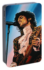 Prince Painting Portable Battery Charger by Paul Meijering