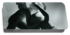 Psyche Revived By The Kiss Of Cupid Portable Battery Charger by Antonio Canova
