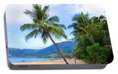 Phuket Patong Beach Portable Battery Charger by Mark Ashkenazi