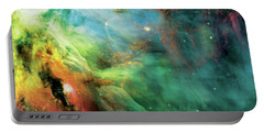 Rainbow Orion Nebula Portable Battery Charger by The  Vault - Jennifer Rondinelli Reilly