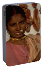 Portable Battery Charger featuring the photograph Rajasthan by Travel Pics