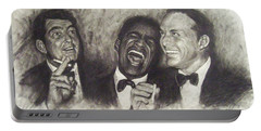 Rat Pack Portable Battery Charger by Cynthia Campbell