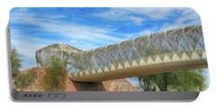 Rattlesnake Bridge Portable Battery Charger by Teresa Zieba