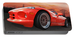 Red Viper Rt10 Portable Battery Charger by Gill Billington
