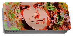 Robert Plant Portable Battery Charger by Sergey Lukashin