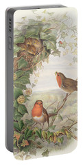 Robin Portable Battery Charger by John Gould