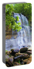 Portable Battery Charger featuring the photograph Rock Glen by Rodney Campbell