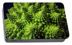 Romanesco Broccoli Portable Battery Charger by Garry Gay