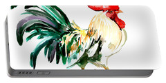 Rooster Portable Battery Charger by Suren Nersisyan