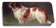 Saint Bernard Portable Battery Charger by Heinrich Sperling