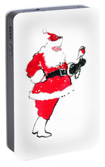 Santa Robin Falconry Portable Battery Charger by George Adamson