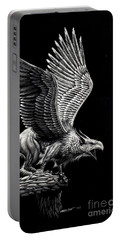 Screaming Griffon Portable Battery Charger by Stanley Morrison