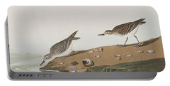 Semipalmated Sandpiper Portable Battery Charger by John James Audubon