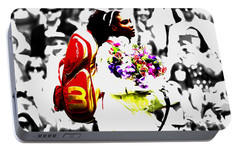 Serena Williams 2f Portable Battery Charger by Brian Reaves