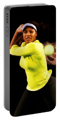 Serena Williams Bamm Portable Battery Charger by Brian Reaves