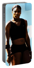 Serena Williams Match Point IIi Portable Battery Charger by Brian Reaves