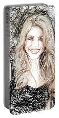 Shakira Portable Battery Charger by Raina Shah