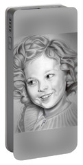 Shirley Temple Portable Battery Charger by Fred Larucci