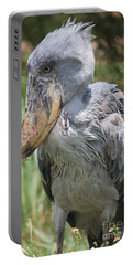 Shoebill Stork Portable Battery Charger by Carol Groenen