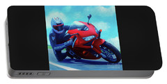 Sky Pilot - Honda Cbr600 Portable Battery Charger by Brian  Commerford