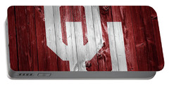 Sooners Barn Door Portable Battery Charger by Dan Sproul