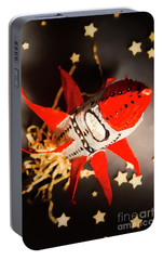 Space Launch To Seek And Discover Portable Battery Charger by Jorgo Photography - Wall Art Gallery