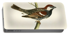 Spanish Sparrow Portable Battery Charger by English School