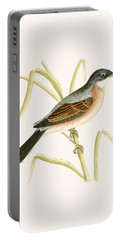Spectacled Warbler Portable Battery Charger by English School
