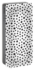 Spots Portable Battery Charger by Rachel Follett