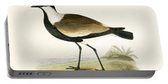 Spur Winged Plover Portable Battery Charger by English School