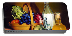 Still Life In Oil Portable Battery Charger by Patrick Anthony Pierson