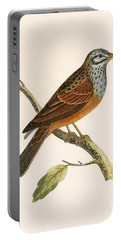 Striolated Bunting Portable Battery Charger by English School