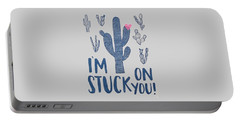 Stuck On You Portable Battery Charger by Elizabeth Taylor