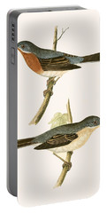 Sub Alpine Warbler Portable Battery Charger by English School