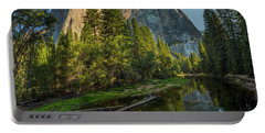 Sunrise On El Capitan Portable Battery Charger by Peter Tellone