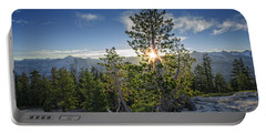 Sunrise On Sentinel Dome Portable Battery Charger by Rick Berk