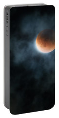 Super Blood Moon 2015 Portable Battery Charger by Bill Wakeley