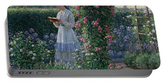 Sweet Solitude Portable Battery Charger by Edmund Blair Leighton