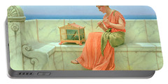 Sweet Sounds Portable Battery Charger by John William Godward