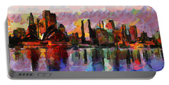 Sydney Here I Come Portable Battery Charger by Sir Josef Social Critic - ART