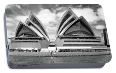 Sydney Opera House No. 1-1 Portable Battery Charger by Sandy Taylor