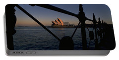 Portable Battery Charger featuring the photograph Sydney Opera House by Travel Pics